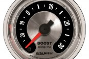 "Auto Meter® - American Muscle™ 2-1/16"" Electric Boost / Vacuum Gauge, 30"" Hg / 30 psi"