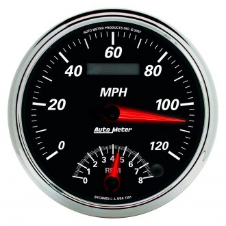 Auto Meter® - Designer Black II™ In-Dash Gauges