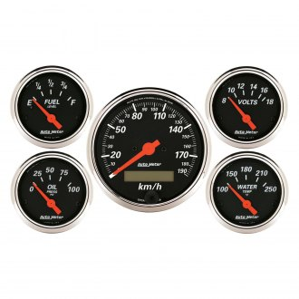 Auto Meter® - Designer Black Series Gauges