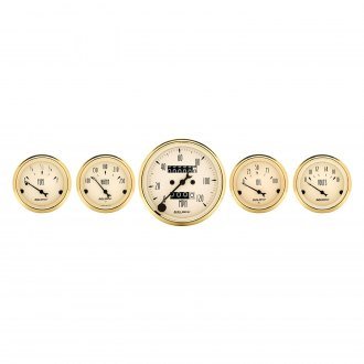 Auto Meter® - Golden Oldies Series 5-Piece Kit