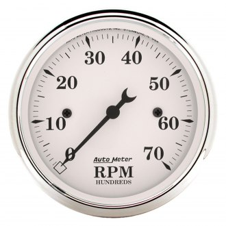 Auto Meter® - Old Tyme White™ Tachometer In-Dash Gauge