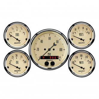 Auto Meter® - Antique Beige Series Gauges