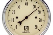 "Auto Meter® - Antique Beige™ 3-3/8"" In-Dash Tachometer, 0 - 8000 RPM"