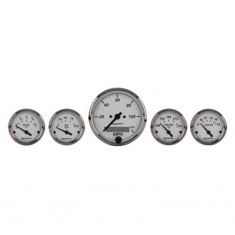 Auto Meter® - American Platinum Series 5-Piece Kit
