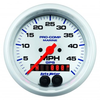 Auto Meter® - Marine White™ In-Dash Gauges