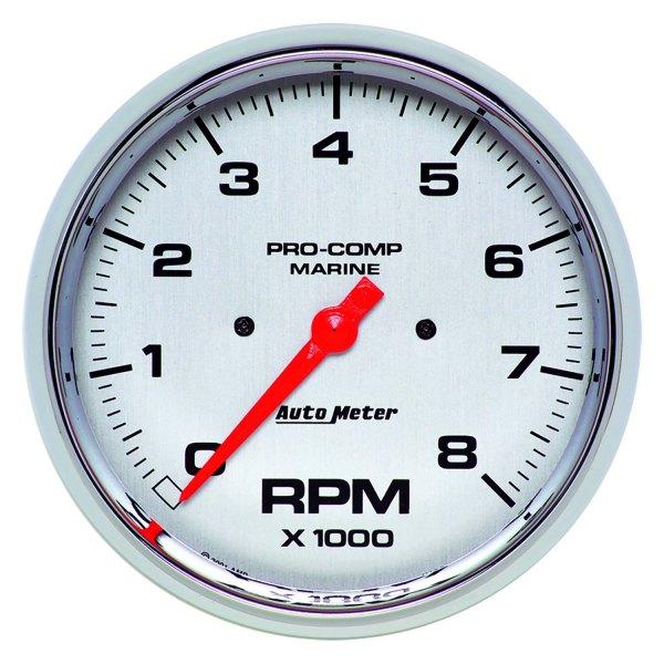general electric tachometer wiring diagram auto meter   200797 35 marine 5  chrome in dash mount  auto meter   200797 35 marine 5  chrome in dash mount