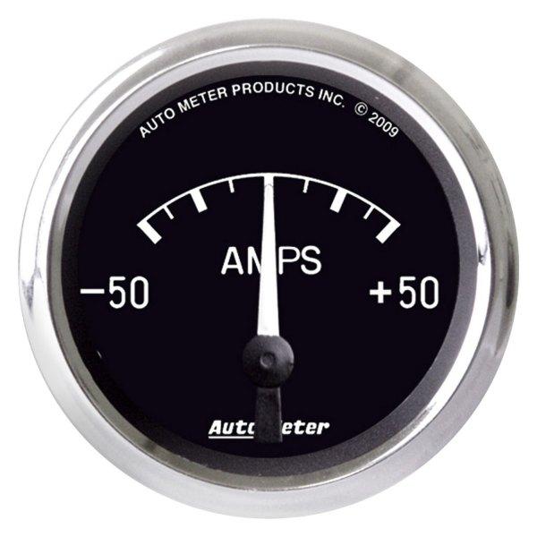 Auto Meter Ammeter : Auto meter  cobra™ ammeter in dash gauge