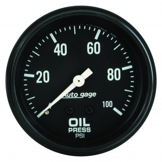 Auto Meter® - Auto Gage™ Oil Pressure In-Dash Gauge