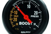 Auto Meter® - Z-Series™ Boost/Vacuum In-Dash Gauge