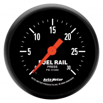 Auto Meter® - Z-Series Fuel Rail Pressure In-Dash Gauge