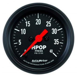 Auto Meter® - Z-Series Oil Pressure In-Dash Gauge