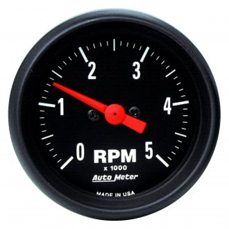 Auto Meter® - Z-Series™ 2-1/16 In-Dash Tachometer , 0 - 5000 RPM