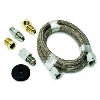 Auto Meter® - Braided Stainless Steel Line Kit