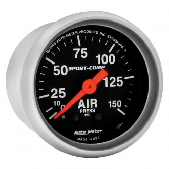 Auto Meter® - Sport-Comp™ Air Pressure In-Dash Gauge