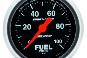 "Auto Meter® - Sport-Comp™ 2-1/16"" Electric Fuel Pressure Gauge, 0 - 100 psi"