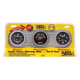 Auto Meter® - Sport-Comp II™ In-Dash Gauges
