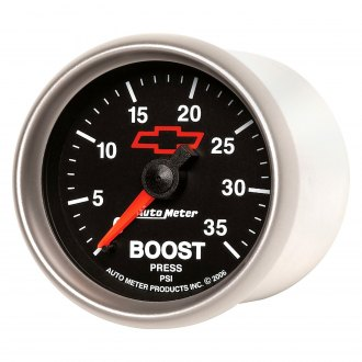 Auto Meter® - GM Series 2-1/16 Mechanical Boost Gauge , 0 - 35 psi