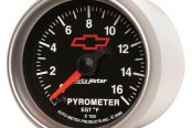 "Auto Meter® - GM Series 2-1/16"" Electric EGT / Pyrometer Gauge, 0 - 1600 F"