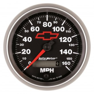 Auto Meter® - GM Black Series Gauges
