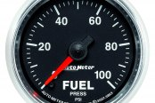 "Auto Meter® - GS™ 2-1/16"" Electric Fuel Pressure Gauge, 0 - 100 psi"