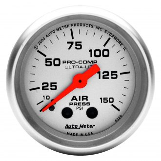 Auto Meter® - Ultra-Lite™ Air Pressure In-Dash Gauge
