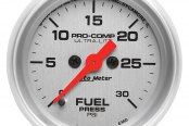 "Auto Meter® - Ultra-Lite™ 2-1/16"" Electric Fuel Pressure Gauge, 0 - 30 psi"