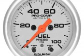Auto Meter® - Ultra-Lite™ Fuel Pressure In-Dash Gauge
