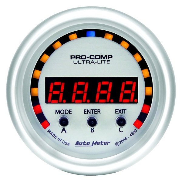 "Auto Meter® - Ultra-Lite™ 2-1/16"" Electric D-PIC™ Gauge, -2G - +2G"