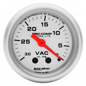 Auto Meter® - Ultra-Lite™ Vacuum In-Dash Gauge