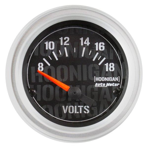 Voltmeters In Dash : Auto meter hoonigan™ voltmeter in dash gauge