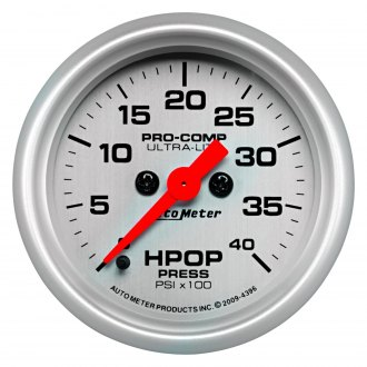 Auto Meter® - Ultra-Lite Oil Pressure In-Dash Gauge