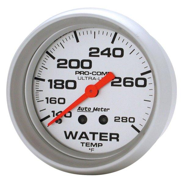 Auto Meter 4469 Ultra-Lite Water Temperature Gauge