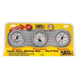 Auto Meter® - Ultra-Lite II™ In-Dash Gauges