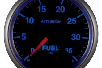 Auto Meter® - Elite Series™ Fuel Pressure In-Dash Gauge