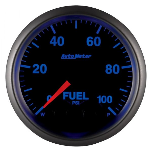 "Auto Meter® - Elite Series 2-1/16"" Electric Fuel Pressure Gauge, 0 - 100 psi"