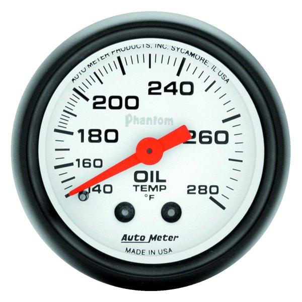 auto meter 5741 phantom oil temperature in dash gauge. Black Bedroom Furniture Sets. Home Design Ideas