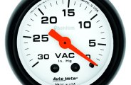 "Auto Meter� - Phantom� 2-1/16"" Mechanical Vacuum Gauge"