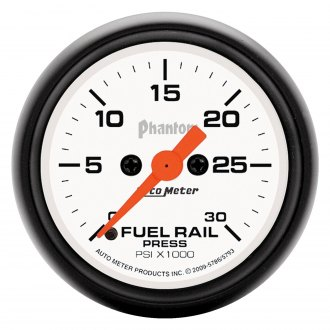 Auto Meter® - Phantom™ Fuel Rail Pressure In-Dash Gauge