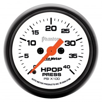 Auto Meter® - Phantom™ Oil Pressure In-Dash Gauge