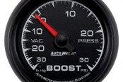 Auto Meter® - ES™ Boost/Vacuum In-Dash Gauge