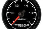 "Auto Meter® - ES™ 2-1/16"" Electric Wideband Band Air / Fuel Ratio Gauge, 8:1 - 18:1 AFR"