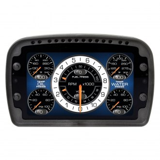 Auto Meter® - User Configurable LCD Dash Display