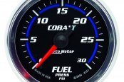 "Auto Meter® - Cobalt™ 2-1/16"" Electric Fuel Pressure Gauge, 0 - 30 psi"