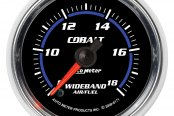 "Auto Meter® - Cobalt™ 2-1/16"" Electric Wideband Band Air / Fuel Ratio Gauge, 8:1 - 18:1 AFR"