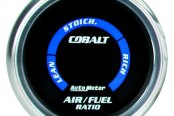 "Auto Meter® - Cobalt™ 2-1/16"" Digital Air / Fuel Ratio Gauge, Lean-Rich"