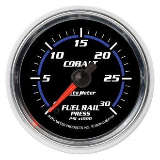 Auto Meter® - Cobalt Fuel Rail Pressure In-Dash Gauge