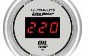Auto Meter® - Ultra-Lite™ Oil Temperature In-Dash Gauge