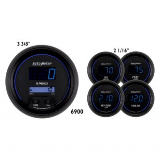 Auto Meter® - Cobalt Digital Series 5-Piece Kit