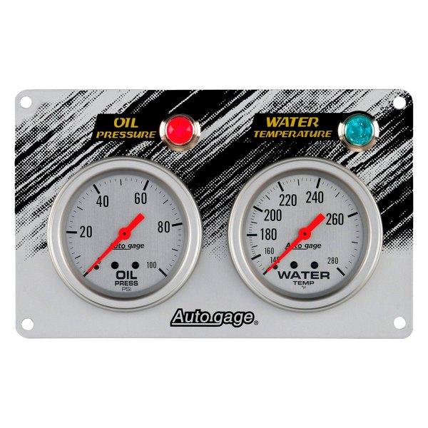 Auto Gage Gauges : Auto meter gage™ gauge panel kit