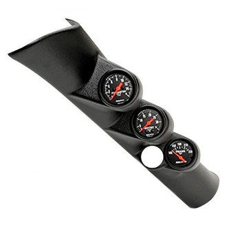 Auto Meter® - Z-Series™ Direct Fit Boost/Pyrometer/Transmission Temperature A-Pillar Gauge Kit